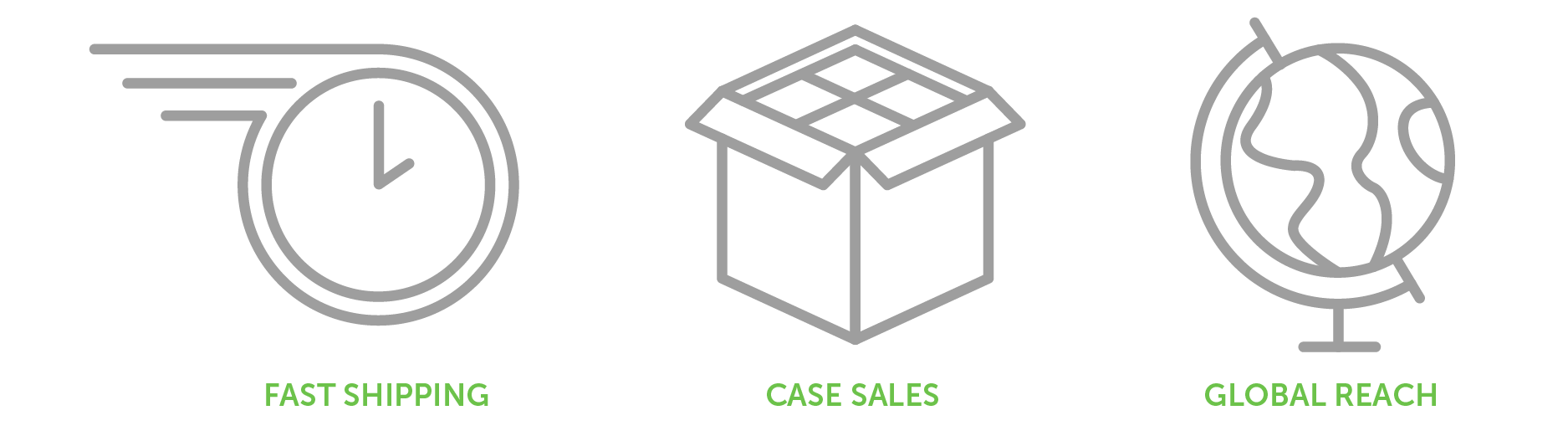 sales advantages icons