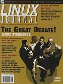 Cover for Linux Journal Issue No. 62