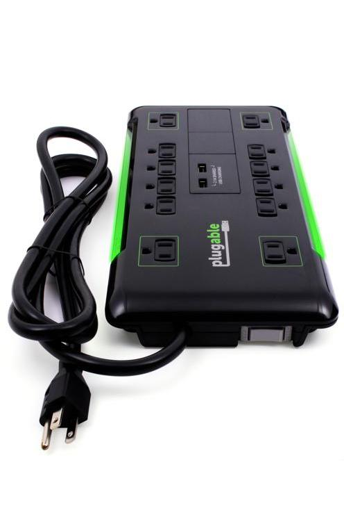 Plugable's Surge Protector Power Strip with USB Ports