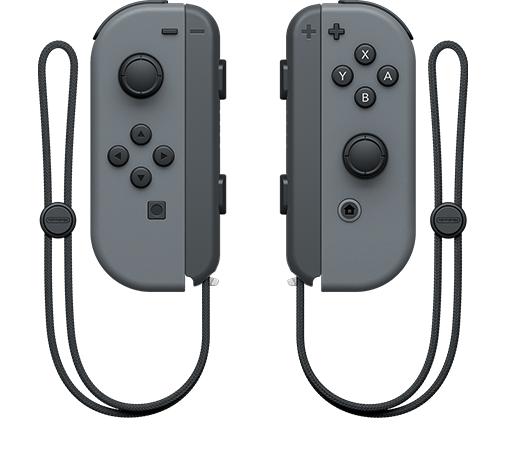 A pair of Nintendo Switch JoyCons
