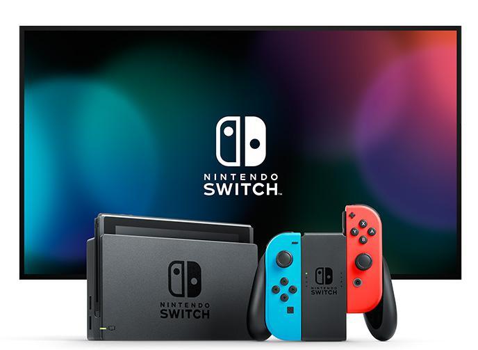 Nintendo Switch in TV Mode