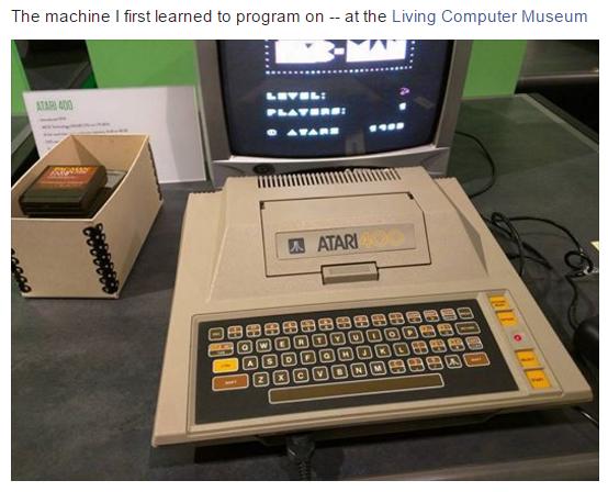 The Atari 400