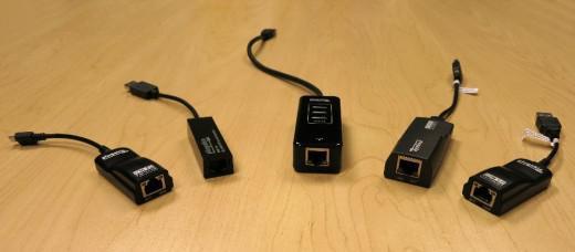 Plugable's range of USB-Ethernet adapters