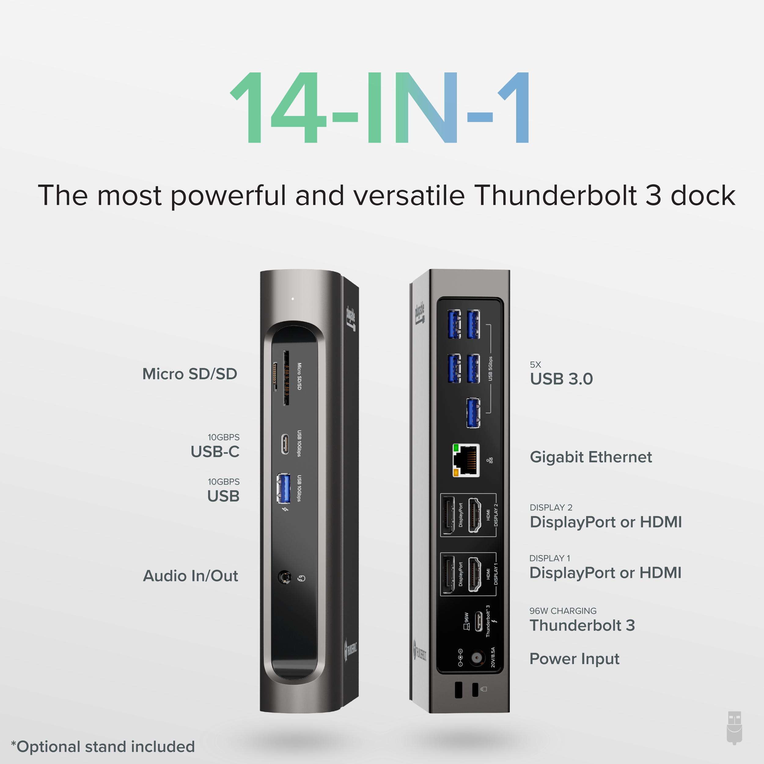 14-in-1 Thunderbolt and USB-C Docking Station