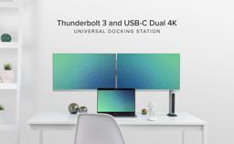 Thunderbolt 3 and USB-C Dual 4K Universal Docking Station