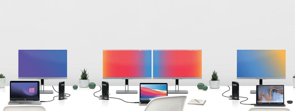 hot desking with UD-3900C