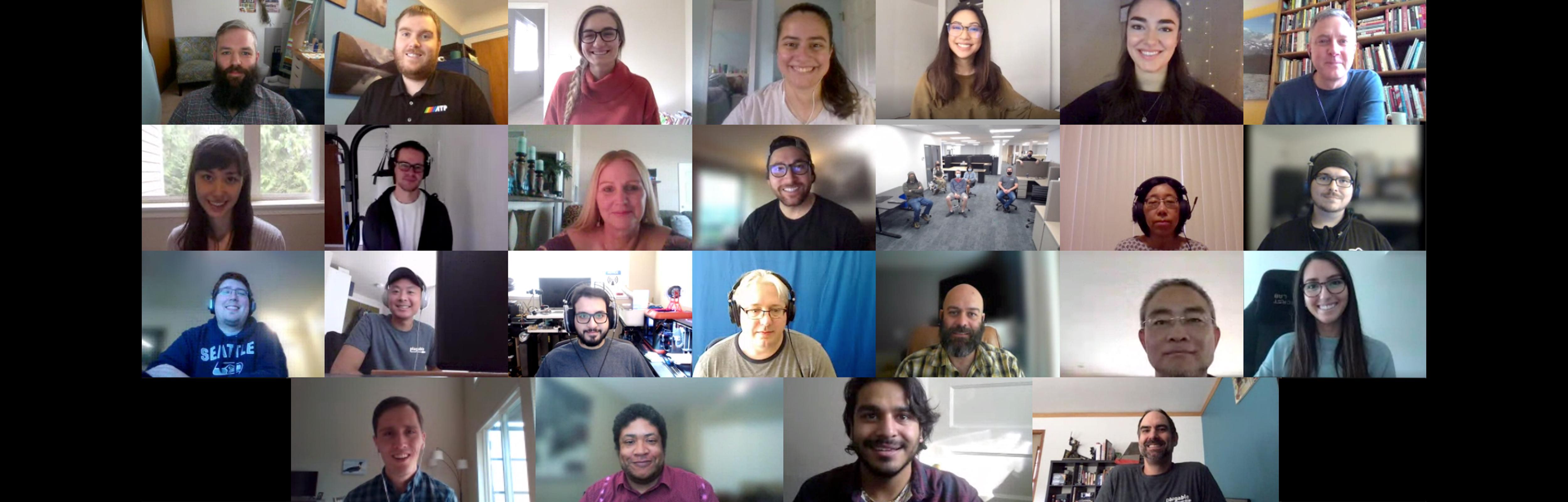 full virtual company photo