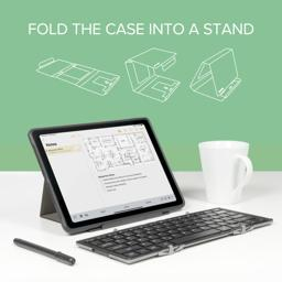 Thumbnail of The Outer Case can be Folded into a stand for your device