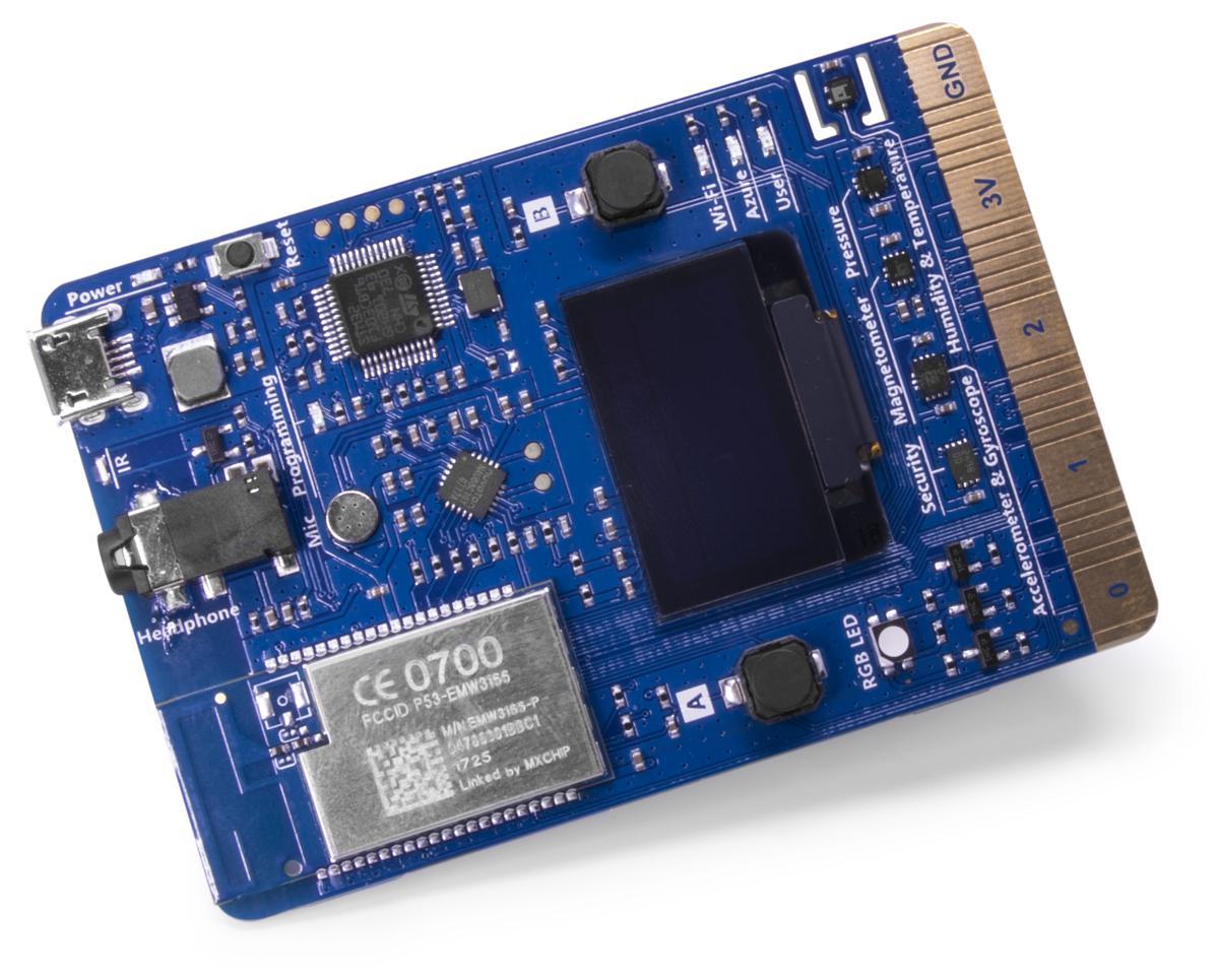 Main product photo of the IOT-AZ3166 single-board computer
