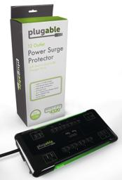 Thumbnail of Packaging of the 12-outlet Power Strip