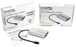 Thumbnail of Packaging for the Dual Displayport Adapter for Windows