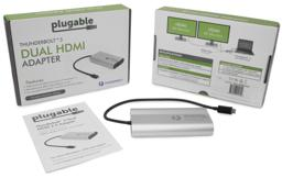 Thumbnail of Packaging of the Dual Display HDMI Adapter