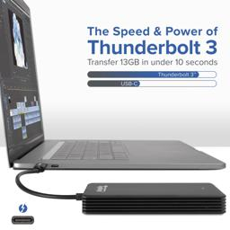 Thumbnail of Image of Thunderbolt 3 480GB NVME Solid State Drive Speed Comparison