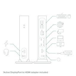 Thumbnail of Diagram of connectivity with the TBT3-UDV dock