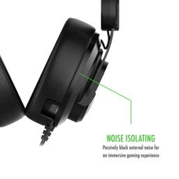 Thumbnail of Detail schematic for the Plugable Performance Onyx Gaming Headset