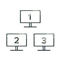 Supports three HDMI displays