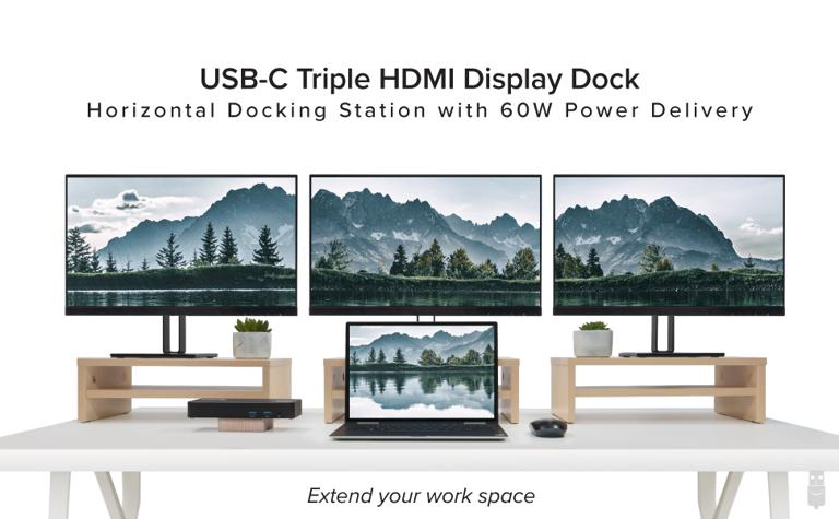 Plugable Triple HDMI docking station