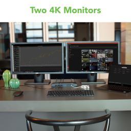 Docking Station in use on desktop