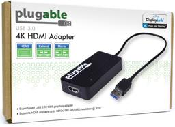 Thumbnail of Image of the front of the box of Plugable's 4K HDMI adapter