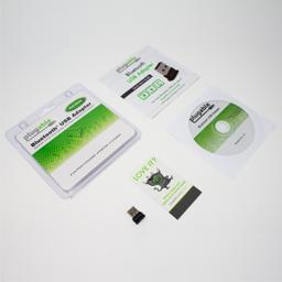 Thumbnail of Package of what comes with the Plugable Bluetooth adapter