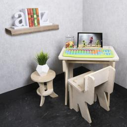 Thumbnail of Kids keyboard in use on top of table