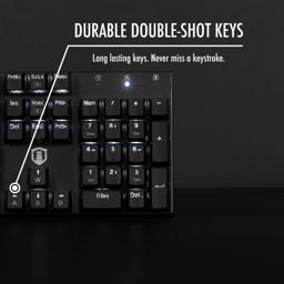 Thumbnail of durable double-shot keys