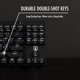 Thumbnail of durable double shot keys