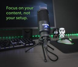 Thumbnail of in-use image of the Plugable Studio USB Microphone