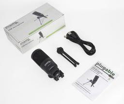 Thumbnail of Packaging of the Plugable Studio USB Microphone
