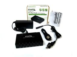 Thumbnail of Package Contents of the USB 2.0 7-Port Hub with 60W Power Adapter
