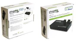 Thumbnail of Image of the packaging for the Plugable Hub