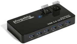 Thumbnail of Main image of the Plugable 10-port Hub