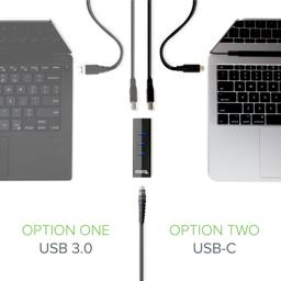 Thumbnail of USB 3.0 and USB-C compatibility with the USB 3.0 Gigabit Ethernet Adapter