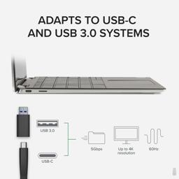 Thumbnail of Connecting USBC-6950U to computer