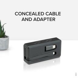 Thumbnail of Concealed cable and adapter for USBC-6950U