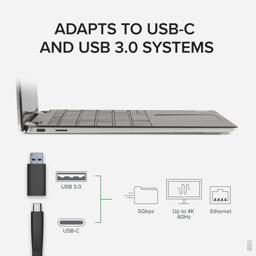 Thumbnail of USB 3.0 and USB-C connections USBC-6950UE