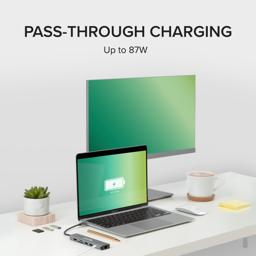 Thumbnail of Up to 87W of USB-C passthrough charging