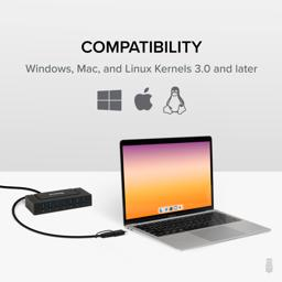 Thumbnail of Compatibility with Windows, Mac, and Linux Kernels 3.0 and later.