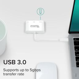 Thumbnail of Supports up to 5Gbps transfer with USB 3.0 port