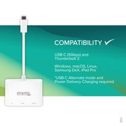 Thumbnail of Compatible with usb-c and Thunderbolt 3 hosts