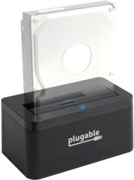 Thumbnail of USBC-SATA-V Vertical Docking station with partiaially transpartent hard drive showing what the dock will look lik