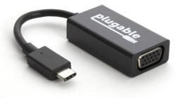 Thumbnail of Main image of the Plugable USB-C to VGA Adapter