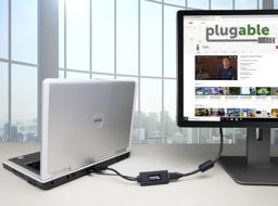Thumbnail of Connecting a VGA output to HDMI monitor